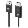 A product image of ALOGIC Elements DisplayPort to HDMI 1m Cable