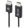 A product image of ALOGIC Elements DisplayPort to HDMI 2m Cable