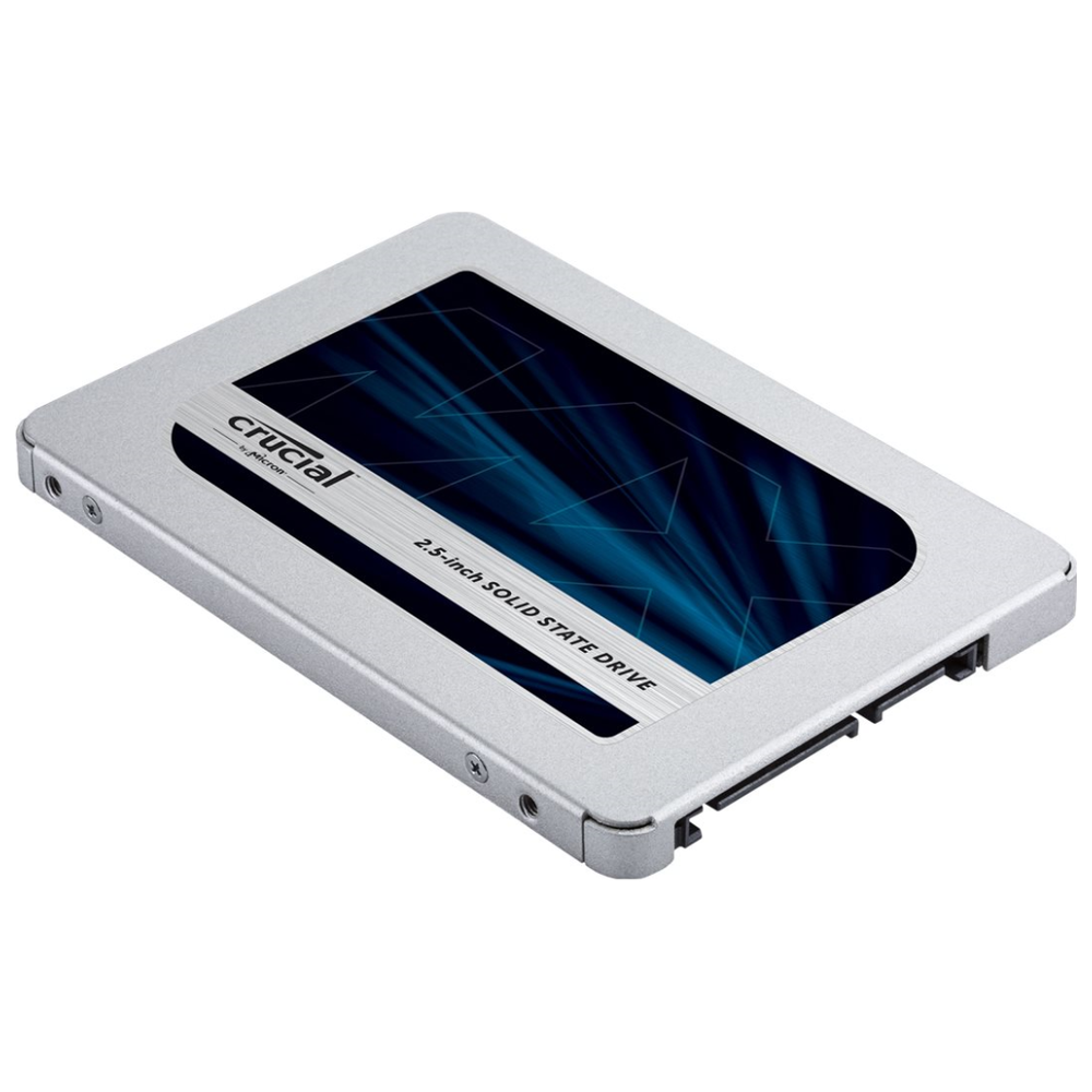 "A large main feature product image of Crucial MX500 1TB SATA 2.5"" 7mm SSD"