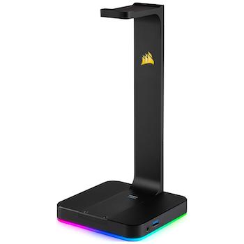 Product image of Corsair ST100 RGB Premium Headset Stand - Click for product page of Corsair ST100 RGB Premium Headset Stand