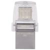A product image of Kingston DataTraveler MicroDuo 3C USB Type-A & C USB 32GB 3.0 Flash Drive