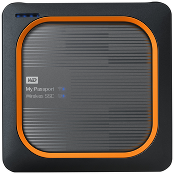 Product image of WD My Passport 500GB Portable Wireless SSD - Click for product page of WD My Passport 500GB Portable Wireless SSD