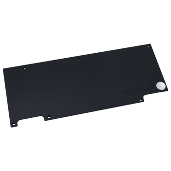 Product image of EK FC1080 GTX Strix Backplate - Black - Click for product page of EK FC1080 GTX Strix Backplate - Black