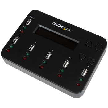 Product image of Startech USB 1:5 Flash Drive Duplicator & Multi-Pass DoD Eraser - Click for product page of Startech USB 1:5 Flash Drive Duplicator & Multi-Pass DoD Eraser