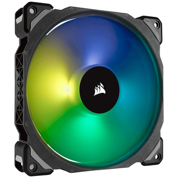 Product image of Corsair ML140 Pro 140mm Mag-Lev RGB PWM Cooling Fan - Click for product page of Corsair ML140 Pro 140mm Mag-Lev RGB PWM Cooling Fan