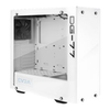 A product image of eVGA DG-77 Alpine White w/ Tempered Glass RGB Mid Tower
