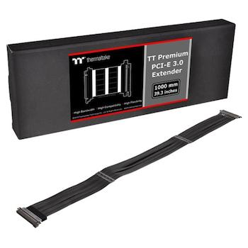 Product image of Thermaltake Premium PCI-E 3.0 x16 Riser Cable 1m - Click for product page of Thermaltake Premium PCI-E 3.0 x16 Riser Cable 1m