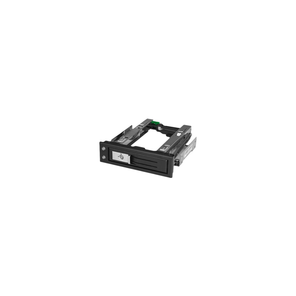 A large main feature product image of Startech 5.25 to 3.5 Drive Hot Swap Bay - For 3.5 SATA/SAS - Trayless