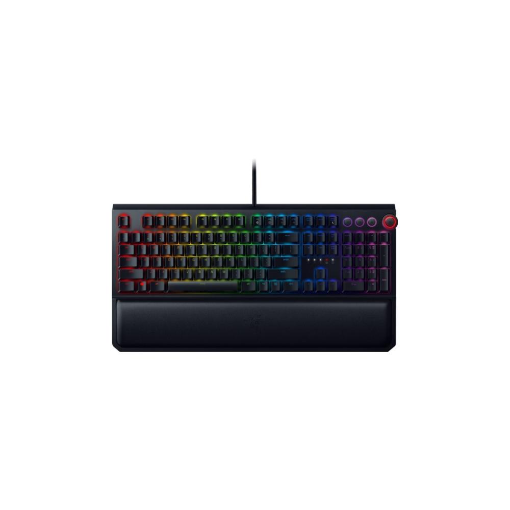 A large main feature product image of Razer Blackwidow Elite Mechanical Gaming Keyboard (Yellow Switch)