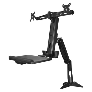 Startech Sit Stand Dual Monitor Arm - For 2 Monitors up to 24