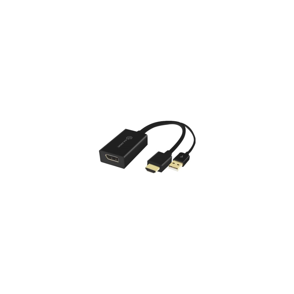 A large main feature product image of ALOGIC Elements HDMI to Displayport Adapter Converter