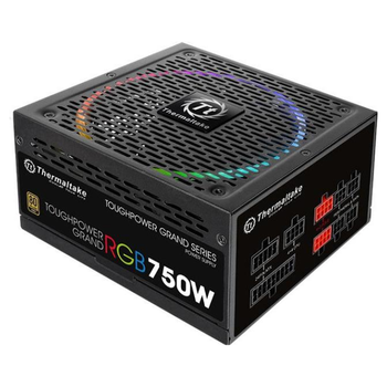 Product image of Thermaltake Toughpower Grand RGB 750W 80PLUS Gold (RGB Sync Edition) Power Supply - Click for product page of Thermaltake Toughpower Grand RGB 750W 80PLUS Gold (RGB Sync Edition) Power Supply