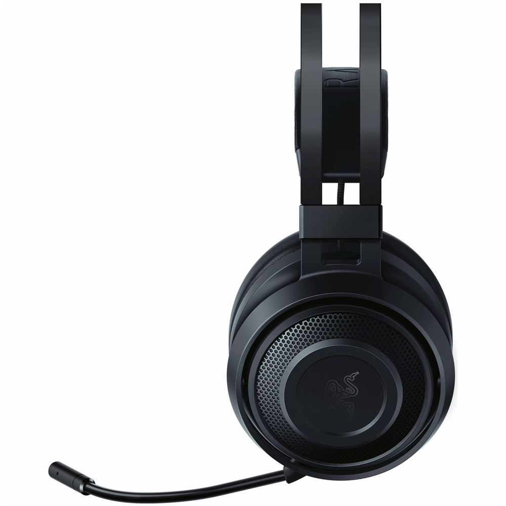 A large main feature product image of Razer Nari Essential Wireless Gaming Headset