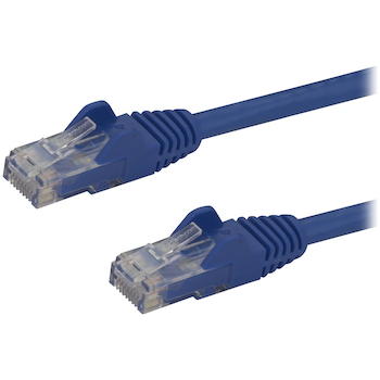 Product image of Startech Cat6 2m Blue Snagless UTP Patch Cable - Click for product page of Startech Cat6 2m Blue Snagless UTP Patch Cable