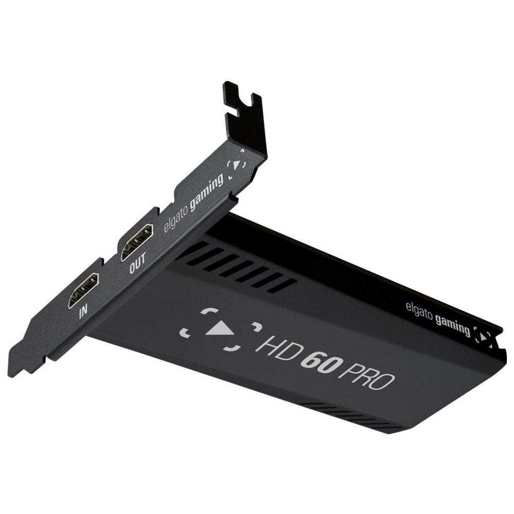 A large main feature product image of Elgato Game Capture HD60 Pro