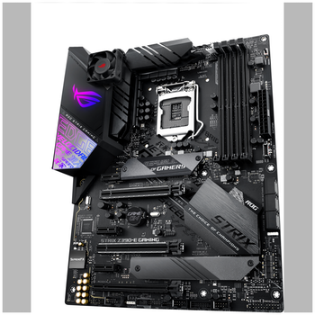 Product image of ASUS ROG Strix Z390-E Gaming LGA1151-CL ATX Desktop Motherboard - Click for product page of ASUS ROG Strix Z390-E Gaming LGA1151-CL ATX Desktop Motherboard