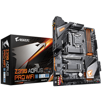 Product image of Gigabyte Z390 Aorus Pro WiFi LGA1151-CL Desktop Motherboard - Click for product page of Gigabyte Z390 Aorus Pro WiFi LGA1151-CL Desktop Motherboard