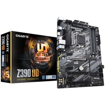 Product image of Gigabyte Z390 UD LGA1151-CL ATX Desktop Motherboard - Click for product page of Gigabyte Z390 UD LGA1151-CL ATX Desktop Motherboard