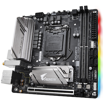 Product image of Gigabyte Z390I AORUS Pro WiFi LGA1151-CL mITX Desktop Motherboard - Click for product page of Gigabyte Z390I AORUS Pro WiFi LGA1151-CL mITX Desktop Motherboard