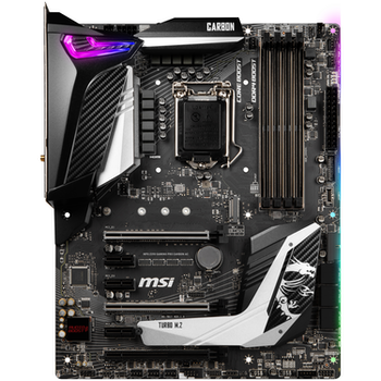 Product image of MSI MPG Z390 GAMING PRO CARBON AC LGA1151-CL ATX Desktop Motherboard - Click for product page of MSI MPG Z390 GAMING PRO CARBON AC LGA1151-CL ATX Desktop Motherboard