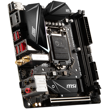 Product image of MSI MPG Z390 I GAMING EDGE AC LGA1151-CL mITX Desktop Motherboard - Click for product page of MSI MPG Z390 I GAMING EDGE AC LGA1151-CL mITX Desktop Motherboard