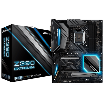 Product image of ASRock Z390 Extreme 4 LGA1151-CL ATX Desktop Motherboard - Click for product page of ASRock Z390 Extreme 4 LGA1151-CL ATX Desktop Motherboard