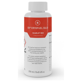 Product image of EK CryoFuel Solid Scarlet Red 250ml Concentrate - Click for product page of EK CryoFuel Solid Scarlet Red 250ml Concentrate