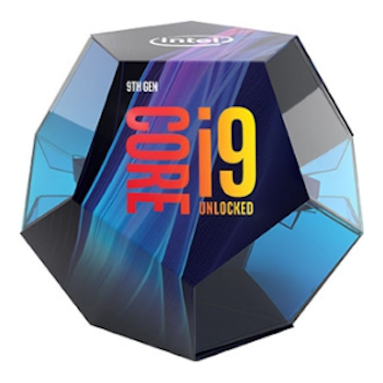 Product image of Intel Core i9 9900K 3.6GHz Coffee Lake R 8 Core 16 Thread LGA1151-CL - No HSF Retail Box - Click for product page of Intel Core i9 9900K 3.6GHz Coffee Lake R 8 Core 16 Thread LGA1151-CL - No HSF Retail Box