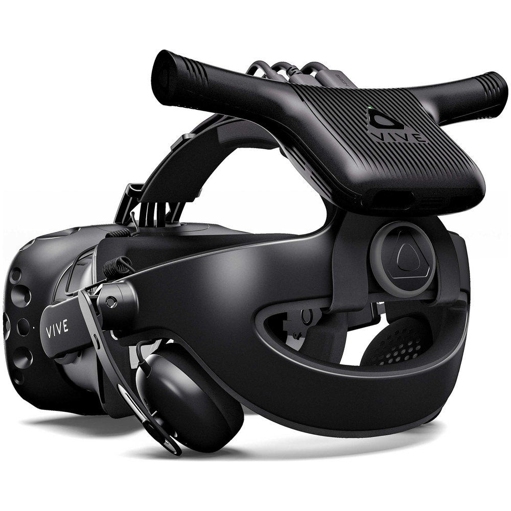 A large main feature product image of HTC VIVE Wireless Adapter Rev.1