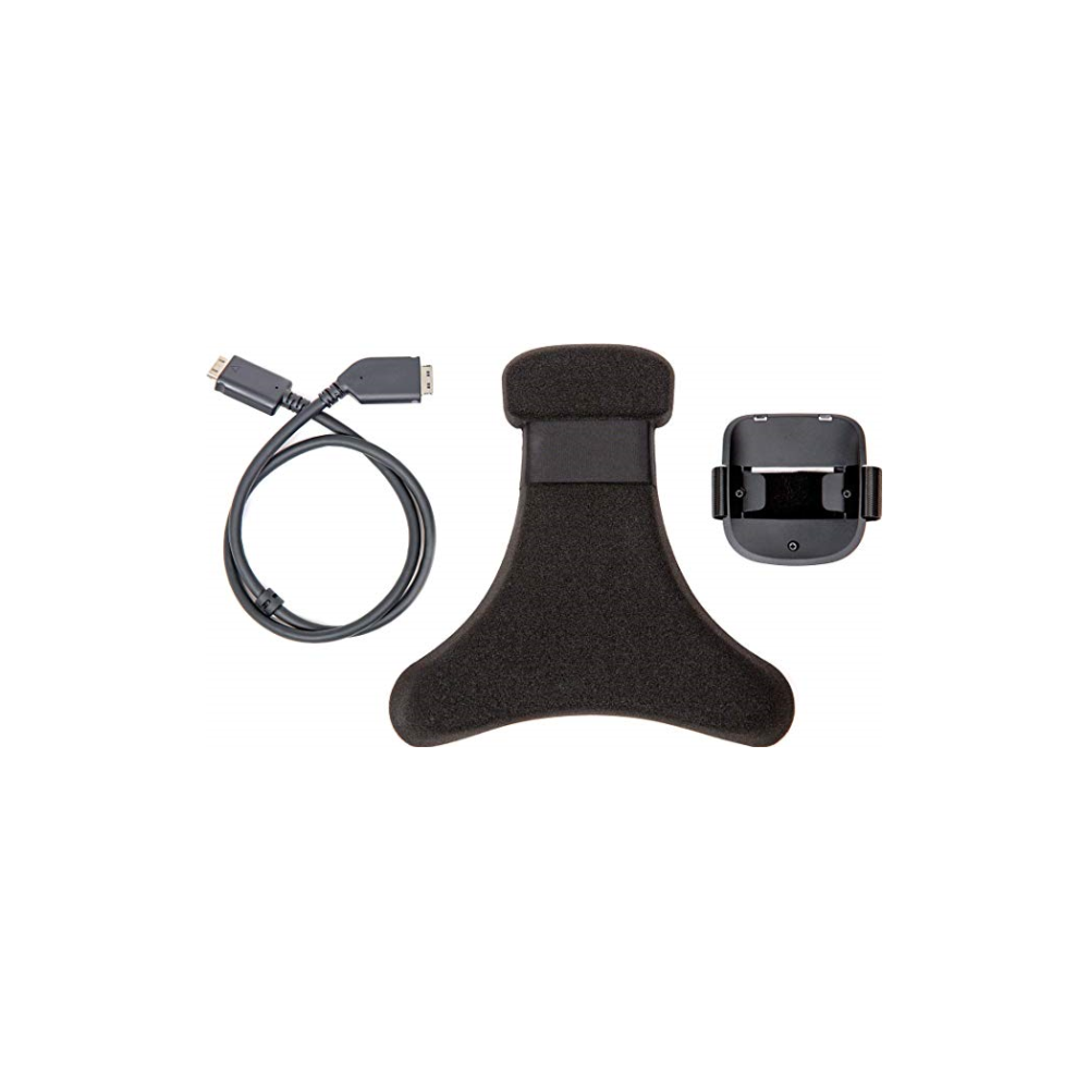 A large main feature product image of HTC VIVE Pro Wireless Adapter Headset Clip Add-On