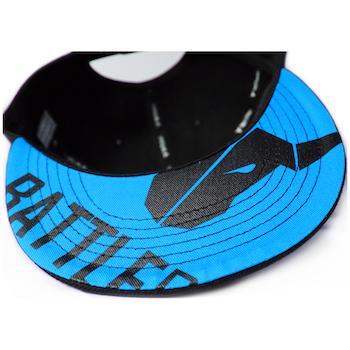 Product image of BattleBull Squad Snapback Cap Black/Blue - Click for product page of BattleBull Squad Snapback Cap Black/Blue
