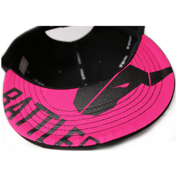Product image of BattleBull Squad Snapback Cap Black/Pink - Click for product page of BattleBull Squad Snapback Cap Black/Pink