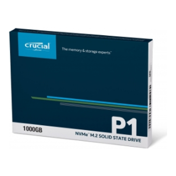 Product image of Crucial P1 1TB NVMe 3D NAND M.2 SSD - Click for product page of Crucial P1 1TB NVMe 3D NAND M.2 SSD