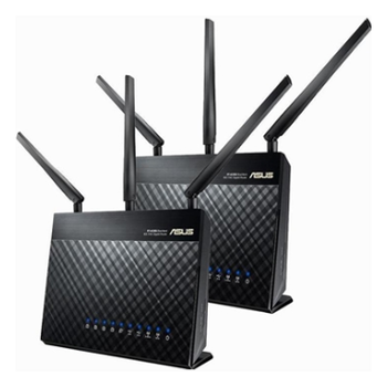 Product image of ASUS RT-AC68U 2 Pack AiMesh AC1900 WiFi System - Click for product page of ASUS RT-AC68U 2 Pack AiMesh AC1900 WiFi System