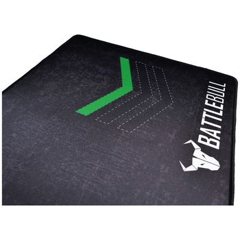 Product image of BattleBull Grazed Extended Mousemat - Green/Black - Click for product page of BattleBull Grazed Extended Mousemat - Green/Black