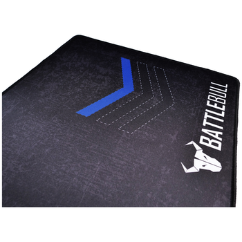 Product image of BattleBull Grazed Extended Mousemat - Blue/Black - Click for product page of BattleBull Grazed Extended Mousemat - Blue/Black