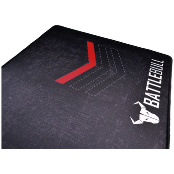 Product image of BattleBull Grazed Extended Mousemat - Red/Black - Click for product page of BattleBull Grazed Extended Mousemat - Red/Black