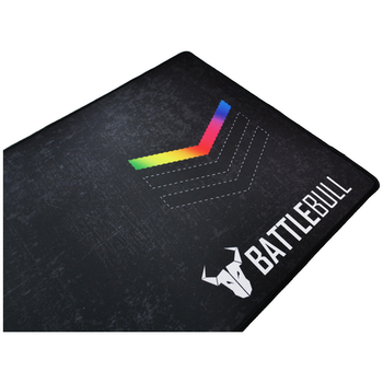 Product image of BattleBull Grazed Extended Mousemat - Multi/Black - Click for product page of BattleBull Grazed Extended Mousemat - Multi/Black