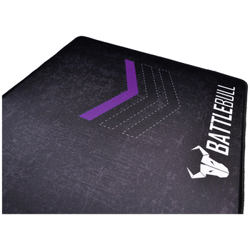 Product image of BattleBull Grazed Extended Mousemat - Purple/Black - Click for product page of BattleBull Grazed Extended Mousemat - Purple/Black
