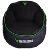 A product image of BattleBull Bunker Black/Green Bean Bag
