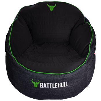 Product image of BattleBull Bunker Black/Green Bean Bag - Click for product page of BattleBull Bunker Black/Green Bean Bag