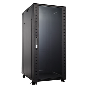 "Product image of Hypertec Floor Mount 19"" Enclosed 18RU (600W X 600D X 988H) Server Cabinet - Click for product page of Hypertec Floor Mount 19"" Enclosed 18RU (600W X 600D X 988H) Server Cabinet"