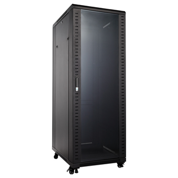 "Product image of Hypertec Floor Mount 19"" Enclosed 32RU (600W X 800D X 1655H) Server Cabinet - Click for product page of Hypertec Floor Mount 19"" Enclosed 32RU (600W X 800D X 1655H) Server Cabinet"
