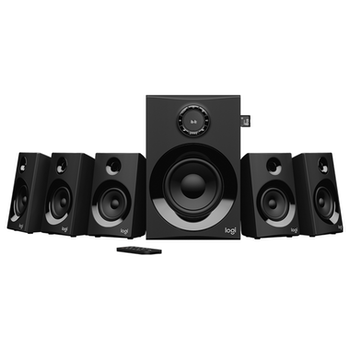 Product image of Logitech Z607 5.1-Channel Bluetooth Speakers - Click for product page of Logitech Z607 5.1-Channel Bluetooth Speakers