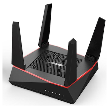 Product image of ASUS RT-AX92U 2 Pack AiMesh AX6100 WiFi System - Click for product page of ASUS RT-AX92U 2 Pack AiMesh AX6100 WiFi System