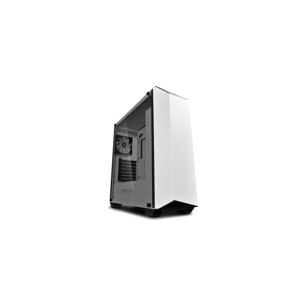 A large main feature product image of Deepcool Earlkase RGB White Mid Tower