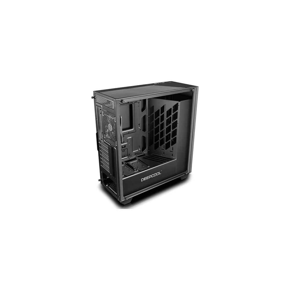A large main feature product image of Deepcool Earlkase RGB Black Mid Tower