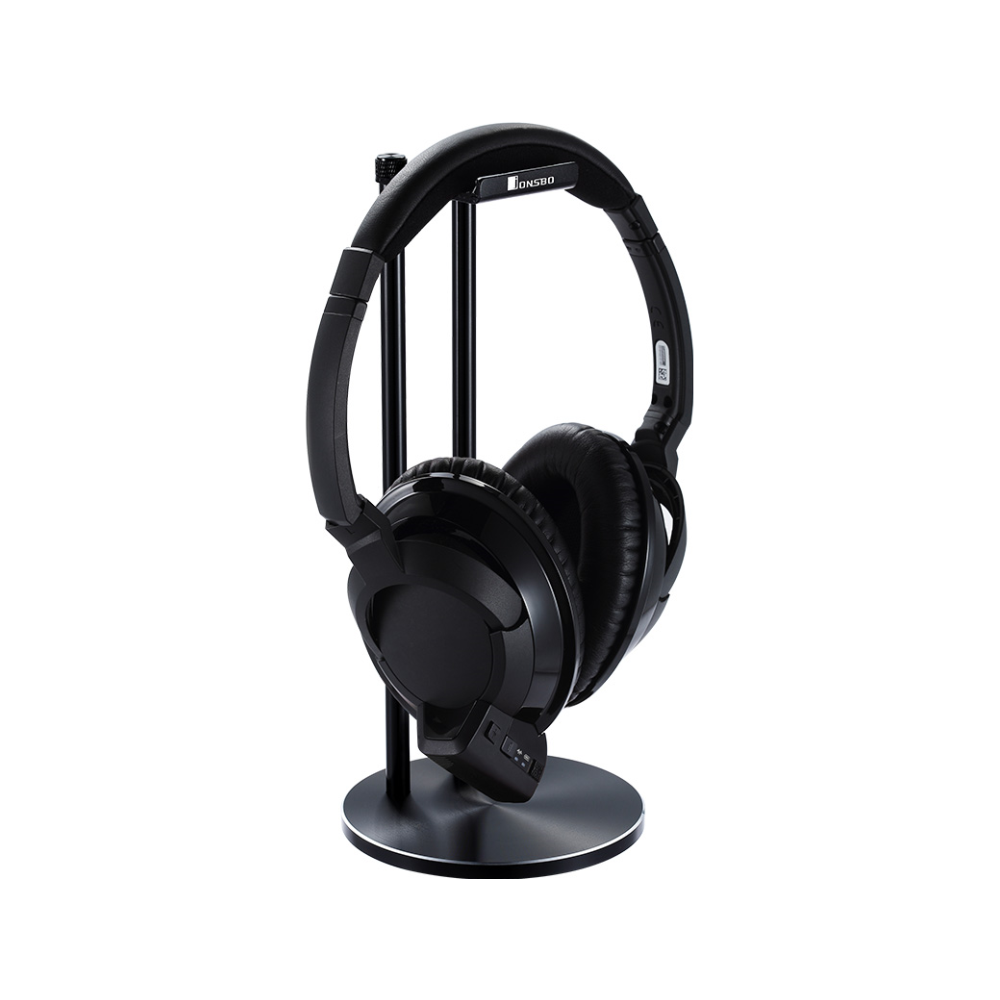 A large main feature product image of Jonsbo HS-01 Metal Headphone Stand Black