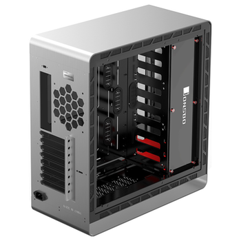 Product image of Jonsbo UMX4 Plus Silver Full Tower Case w/Tempered Glass Side Panel - Click for product page of Jonsbo UMX4 Plus Silver Full Tower Case w/Tempered Glass Side Panel