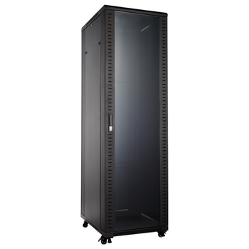 "Product image of Hypertec Floor Mount 19"" Enclosed 42RU (800W X 1000D X 2055H) Server Cabinet - Click for product page of Hypertec Floor Mount 19"" Enclosed 42RU (800W X 1000D X 2055H) Server Cabinet"